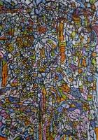oil on canvas - 123 x 85 cm
